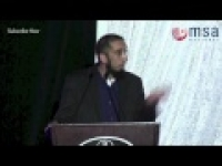 MSA National | The Search for the Sound of the Soul | Nouman Ali Khan
