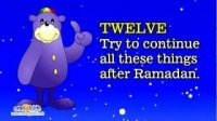 Ramadan Advice For Children by Zaky | HD