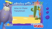 How to perform Tayammum | Learning with Zaky