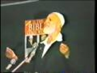 s The Bible God's Word? - Lecture In Abu Dhabi - Sheikh Ahmed Deedat (9/12