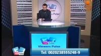 Viewers Pulse (Live), 17 June 2012 - Malik Evangelatos